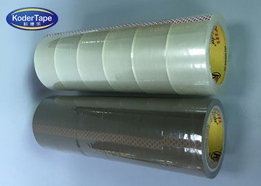 High Tack Bopp Adhesive Tape / Industrial Depot Tapes for Moving Packaging Shipping