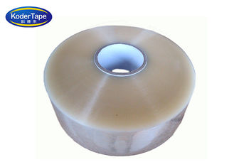 Big Size Machine BOPP Packing Clear Tape With Strong Adhesion , Transparent Bopp Tape