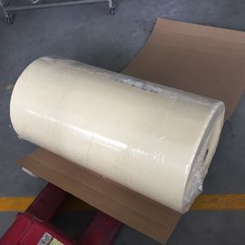 China Automotive Crepe Paper Masking Tape Jumbo Rolls Car Paint Reparing supplier