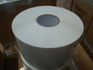 China White Colour Bopp Adhesive Tape 72MM 60MM 48MM Jumbo rolls For Logo Printing supplier