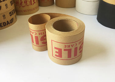 Carton Sealing Bunding Starch Brown Adhesive Kraft Paper Tape