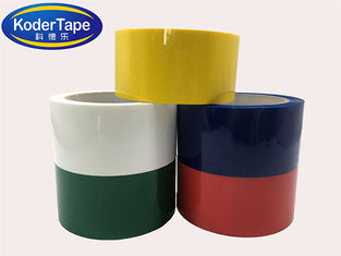 Yellow Color Bopp Packing Tape With 35-90mic Thickness For  Wrapping And Box Sealing