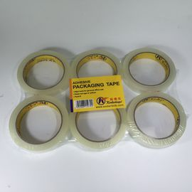 3 Inch Bopp Stationery Tape Paper Core Flat Shrink Packaging Transparent 12mm / 18mm