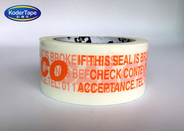 Single Color Print Bopp Packing Adhesive Tape For Carton Sealing Bundling