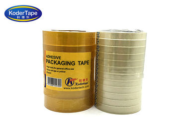 24mm Bopp Stationery Tape For School Supermarket Chain Stores , Packing Adhesive Tape