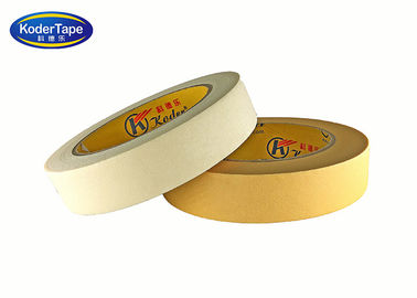 150mic Thickness Paper Masking Tape 80 Degree Temperature White Beige Color
