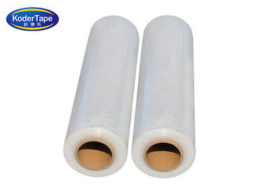 Stretchable Lldpe Stretch Film , Clear Plastic Film For Various Wraping Bunding