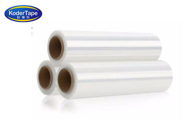 Clear Lldpe Stretch Film 600% Elongation Rate Pre Stretchable Pallets Wraping Bunding