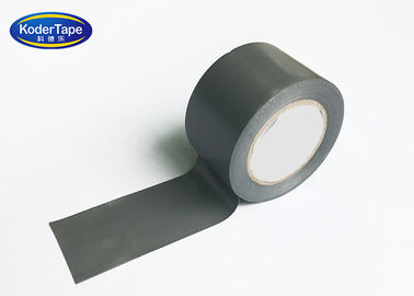 Silver Color PVC Pipe Wrapping Colored Cloth Tape For Air Condition