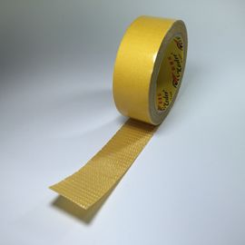 Fiberglass Double Sided Adhesive Tape Clear Fiberglass Filament  In Hotmelt